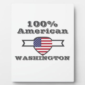 Americano del 100%, Washington Placa Expositora
