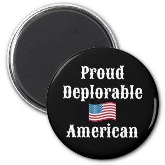 Americano deplorable orgulloso imanes