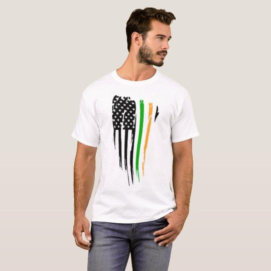 Americano irlandés camiseta
