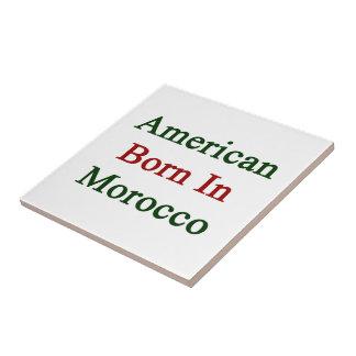 Americano llevado en Marruecos Azulejo Ceramica