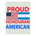 Americano orgulloso del Honduran Postales