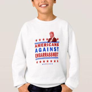 Americanos contra el triunfo de la vergüenza sudadera