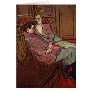 Amies de Les Deux (#2) - tarjeta del arte