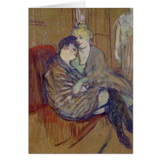 Amies de Les Deux - tarjeta del arte
