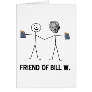 Amigo de Bill W. - celebre la recuperación Tarjeta De Felicitación