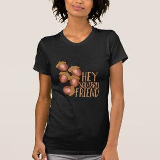 Amigo de la ardilla camiseta