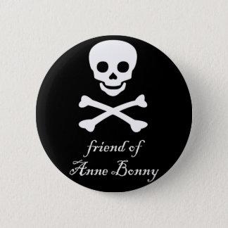 amigo del botón del orgullo de Anne Bonny bi/pan