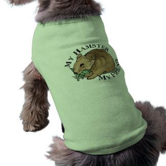 Amigo del hámster camisas de perritos
