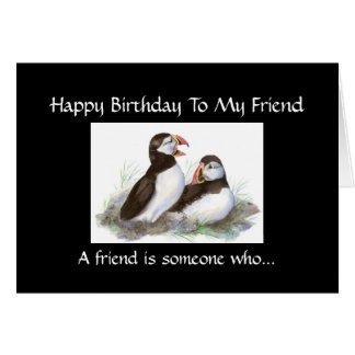 Amigo divertido del cumpleaños - colección del tarjeta
