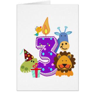 Resultado de imagen de tercer cumpleaños