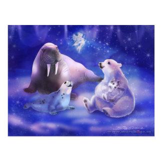 Amigos árticos postal