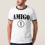 Amigos de habla hispana: Uno de Numero del amigo Camiseta
