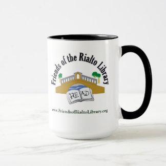 Amigos de la biblioteca de Rialto - taza