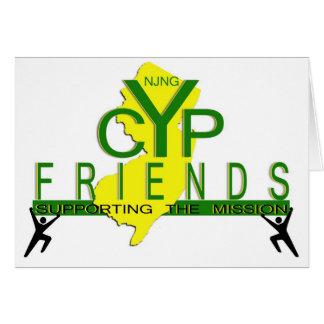 Amigos de las tarjetas de nota de la CYP