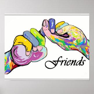 Amigos del ASL Póster