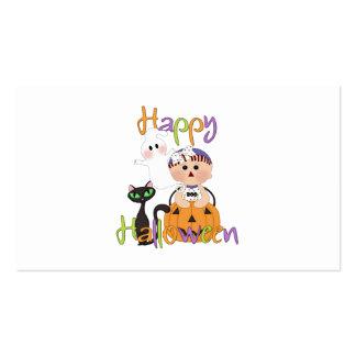 Amigos del bebé del feliz Halloween Plantillas De Tarjeta De Negocio