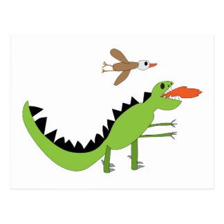 Amigos del dinosaurio postal