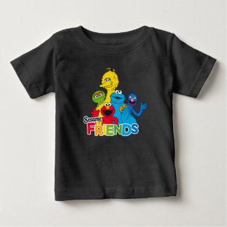 Amigos del sésamo del Sesame Street el | Camiseta De Bebé
