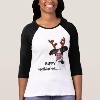 Amigos Holidane de great dane Camiseta