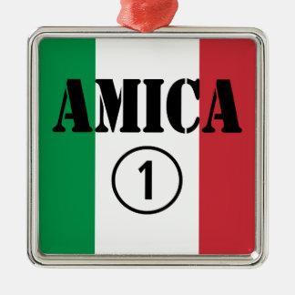 Amigos italianos: Uno de Amica Numero Ornamente De Reyes