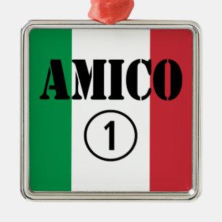 Amigos italianos: Uno de Amico Numero Ornamente De Reyes