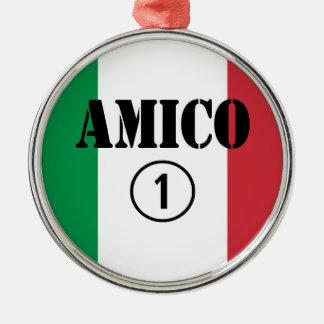 Amigos italianos: Uno de Amico Numero Ornamentos Para Reyes Magos