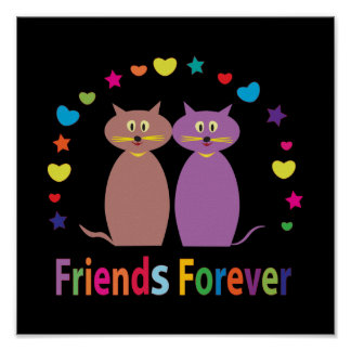 amigos para siempre poster