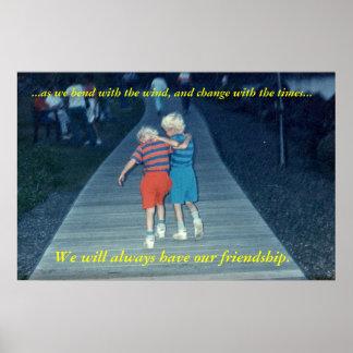 Amigos para siempre póster