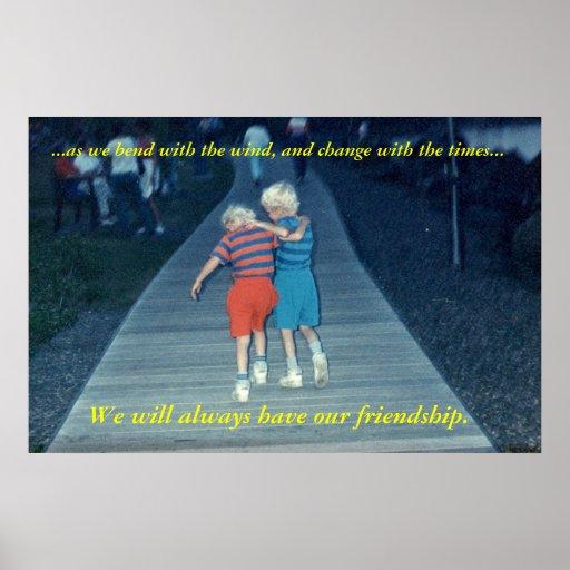 Amigos para siempre posters