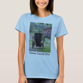 Amish Buggie - Holmes Co OH, el condado de Holmes Camiseta