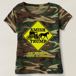 Amish para el triunfo Oldskool que va con errores Camiseta