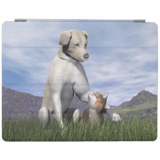 Amistad del perro y del gato cover de iPad