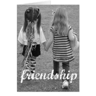 amistad tarjeton