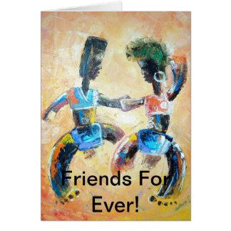amistad tarjeta de felicitación
