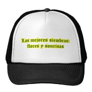 Amo 12,03 de Frases Gorros Bordados