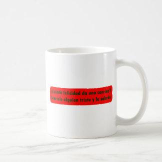Amo 13,05 de Frases Taza De Café