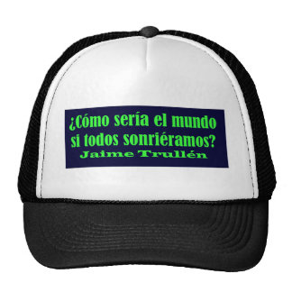 Amo 14 03 de Frases Gorros Bordados