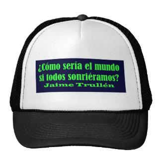 Amo 14,03 de Frases Gorros Bordados