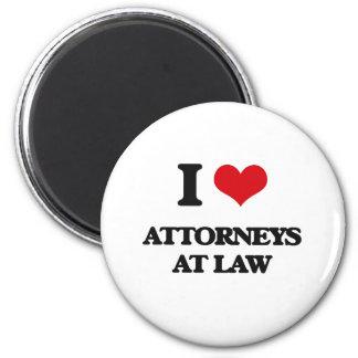 Amo a abogados en la ley iman para frigorífico