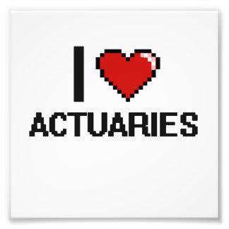 Amo a actuarios fotografia