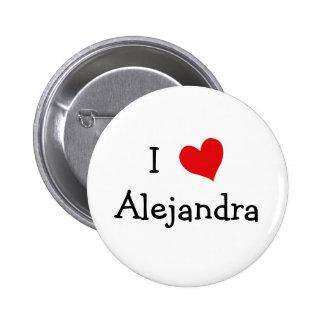 Amo a Alejandra Chapa Redonda 5 Cm