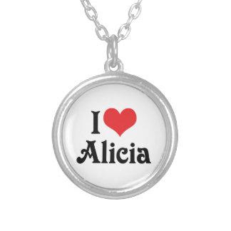 Amo a Alicia Colgante Redondo