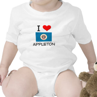 Amo a Appleton Minnesota Trajes De Bebé