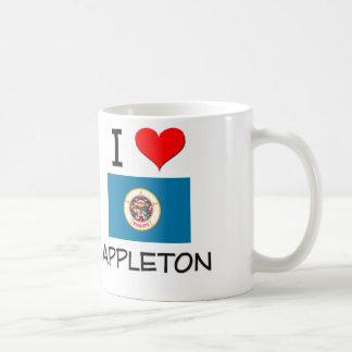 Amo a Appleton Minnesota Tazas