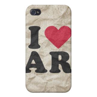 AMO A AR iPhone 4 FUNDA