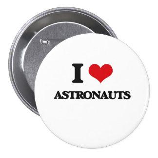 Amo a astronautas pins