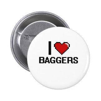 Amo a Baggers Chapa Redonda 5 Cm