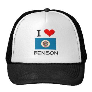Amo a Benson Minnesota Gorra