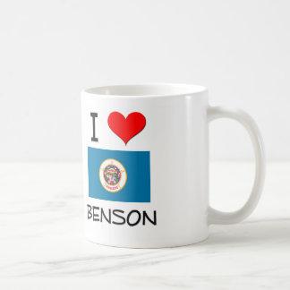 Amo a Benson Minnesota Taza De Café