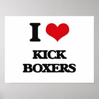 Amo a boxeadores del retroceso póster